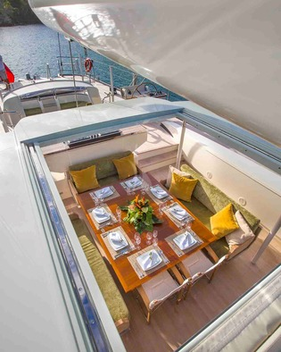 Deck Dining Overhead