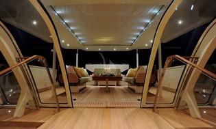 Deck Salon Facing Aft