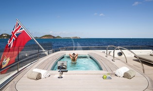 Main Deck Aft Lap Pool